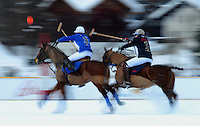 Polosport  World Cup on Snow 2010 Poloturnier St Moritz 2010 FEATURE; Team  JULIUS BAER - Team BRIONI