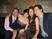 "Matthew Felkner, Selma Blair, Debra Messing & Daniel Zelman.""Purple Violets"" Premiere Party.2007 Tribeca Film Festival .The Film Lounge at PM Lounge.New York, NY, USA .Monday, April, 30, 2007.Photo By Celebrityvibe.To license this image call (212) 410 5354 or;.Email: celebrityvibe@gmail.com; ."