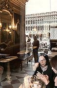 Venice, Cafè Florian in Piazza S. Marco