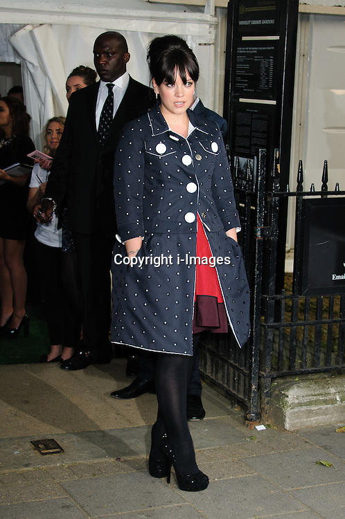 Lily Allen at the Glamour Women of The Year Awards in London, Tuesday, 29th May 2012. Photo by: Chris Joseph / i-Images