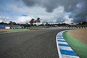Circuito de Jerez, Spain : Formula One Pre-season Testing 2014. Jerez circuit detail.
