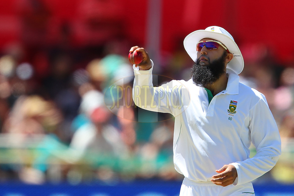 Hashim Amla during the 3rd day of the 1st Sunfoil Test match between South Africa and New Zealand held at Newlands Stadium in Cape Town, South Africa on the 4th January 2013..Photo by Ron Gaunt/SPORTZPICS .