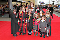 LEAVESDEN - MARCH 31: Harry Potter Fans attend the Worldwide Grand Opening of the Warner Bros. Studio Tour London  The Making of Harry Potter at Leavesden Studios, Watford, UK. March 31, 2012. (Photo by Richard Goldschmidt)