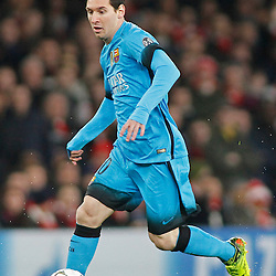 23, 2016 Arsenal FC v FC Barcelona - UEFA Champions League Round of 16