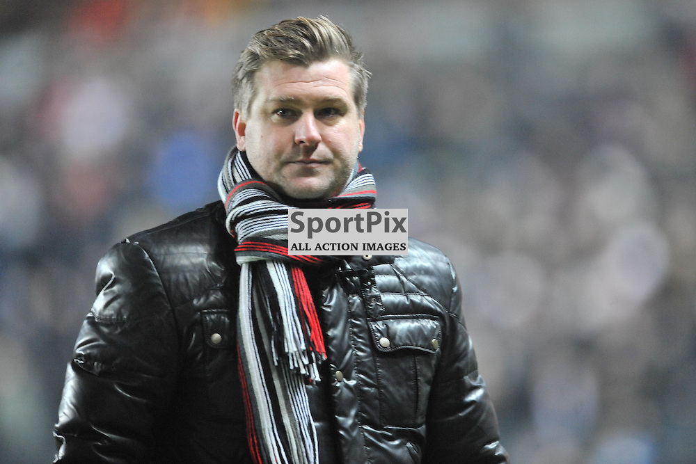 KARL ROBINSON MK MANAGER  MK Dons v Northampton Town, FA Cup Emirates FA Cup Third round Repay, Stadium MK, Tuesday 19th January 2016