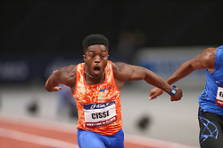February 7, 2018 - Paris, Ile-de-France, France - Gue Arthur Cisse of Ivory Coast wins the 60m during the Athletics Indoor Meeting of Paris 2018, at AccorHotels Arena (Bercy) in Paris, France on February 7, 2018. (Credit Image: © Michel Stoupak/NurPhoto via ZUMA Press)