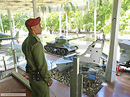 Havanna Vieja, old city, revolutionary museum, Granma Memorial, tank of Fidel Castro, part of american spy plane, Cuba, Havanna
