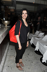 NIGELLA LAWSON at a party to celebrate the publication of 'Made In Sicily' by Giorgio Locatelli at Locanda Locatelli, Seymour Street, London on 4th October 2011.