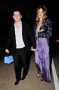 09.JULY.2009 - LONDON<br /> <br /> TYRONE WOOD AND ROSIE HUNTINGTON-WHITELEY LEAVING THE SERPENTINE GALLERY SUMMER PARTY, HYDE PARK.<br /> <br /> BYLINE: EDBIMAGEARCHIVE.COM<br /> <br /> *THIS IMAGE IS STRICTLY FOR UK NEWSPAPERS & MAGAZINES ONLY*<br /> *FOR WORLDWIDE SALES & WEB USE PLEASE CONTACT EDBIMAGEARCHIVE - 0208 954 5968*