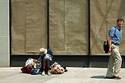 New York, New York. United States. May 11th 2004.Prince street