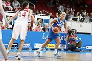 DESCRIZIONE : Riga Latvia Lettonia Eurobasket Women 2009 Qualifying Round Russia Italia Russia Italy<br /> GIOCATORE : Chiara Pastore<br /> SQUADRA : Italia Italy<br /> EVENTO : Eurobasket Women 2009 Campionati Europei Donne 2009 <br /> GARA : Russia Italia Russia Italy<br /> DATA : 14/06/2009 <br /> CATEGORIA : palleggio<br /> SPORT : Pallacanestro <br /> AUTORE : Agenzia Ciamillo-Castoria/E.Castoria