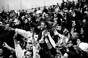 Football Supporters, Chelsea Football Club, London, U.K, Season 1999/2000, CFC-5 MAN UTD-0.