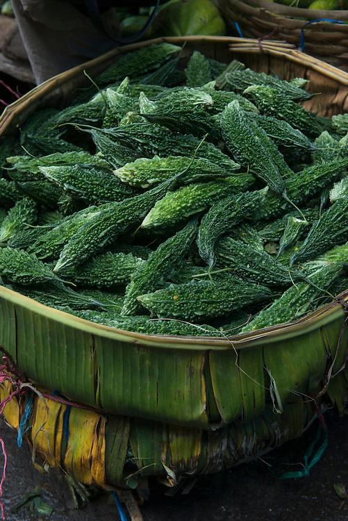 Vegetable market<br /> Barabazar market, Shillong<br /> Meghalaya,  ne India
