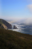 Highway 101 that runs along the Oregon Coast.  Photo by Dennis Brack...