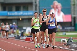 Olympic Trials Eugene 2012: women's 20,000 meter race walk, Melville leads Dow
