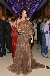 OLGA STEPANENKO at Steps To The Future -in aid of RAFT (Restoration of Appearance & Function Trust) and Walking With The Wounded held at The Hurlingham Club, London on 28th November 2014.