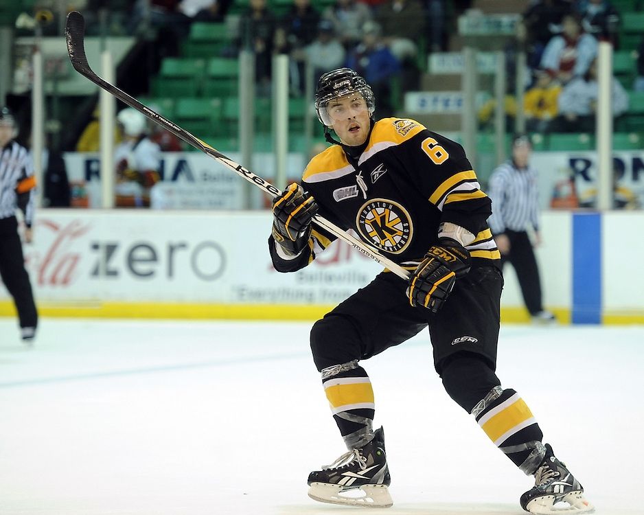 Erik Gudbranson of the Kingston Frontenacs. Photo by Aaron Bell/OHL Images