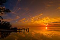 Sunset, Key Largo, Florida Keys, Florida USA