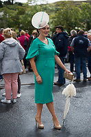 17/08/2017  Winner of the best dressed competition Leanne O'Malley from Maam at the Connemara Pony Show in Clifden. Photo:Andrew Downes, xposure