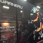 Murale used by Louis Garneau at Interbike 2013