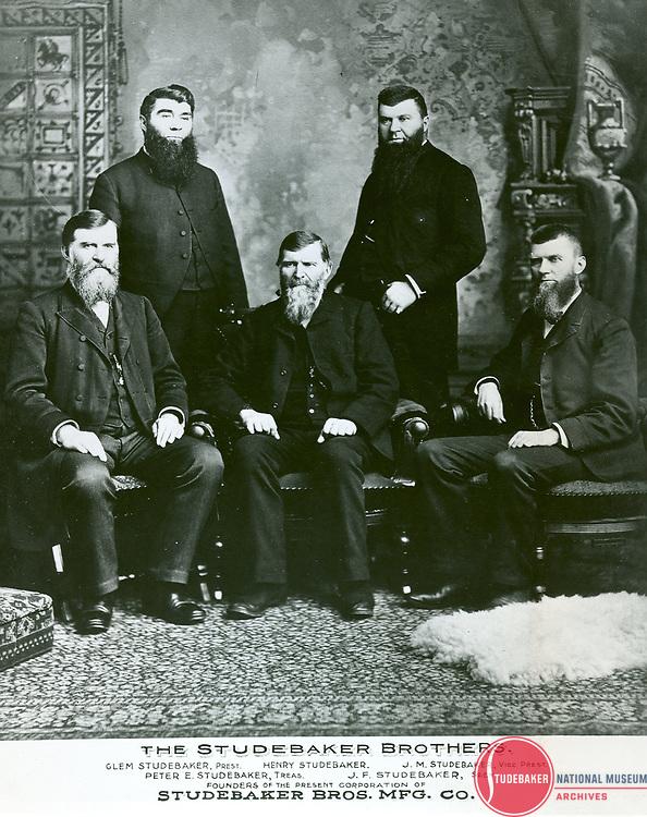 Studebaker family portrait c. 1885