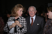 Lord and Lady Wolfson. The opening of Turks: A Journey of a Thousand Years, 600-1600 - an exhibition of Turkish art.  Royal Academy of Arts, Piccadilly, London ONE TIME USE ONLY - DO NOT ARCHIVE  © Copyright Photograph by Dafydd Jones 66 Stockwell Park Rd. London SW9 0DA Tel 020 7733 0108 www.dafjones.com