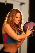 Kimberley Walsh Behind the scenes
