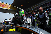 April 15-17, 2016: Chinese Grand Prix, Shanghai, Nico Hulkenberg (GER), Force India