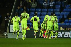 Goal, Jamie Paterson of Huddersfield Town scores, Reading 0-1 Huddersfield Town - Mandatory byline: Jason Brown/JMP - 07966 386802 - 03/11/2015- FOOTBALL - Madejski Stadium - Reading, England - Reading v Huddersfield Town - Sky Bet Championship