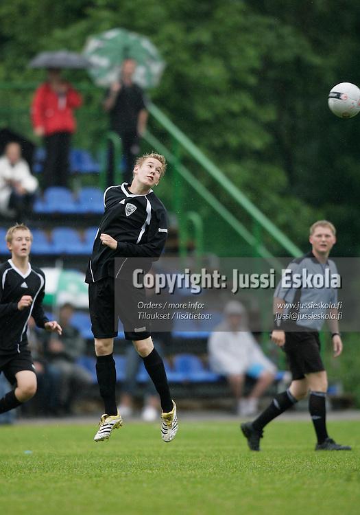 Pojat B17, Interclubes-KäPa. Helsinki Cup, ke 11.7.20007. Photo: Jussi Eskola
