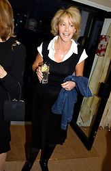 LADY COSIMA SOMERSET at a party hosted by Kathryn Ireland held at her showroom at 65-69 Lots Road, London on 27th September 2005.<br />