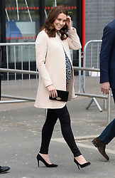 The Duke and Duchess of Cambridge at the Copper Box Arena to help celebrate the Commonwealth, ahead of the Commonwealth Heads of Government Meeting in April. Photo credit should read: Doug Peters/EMPICS Entertainment