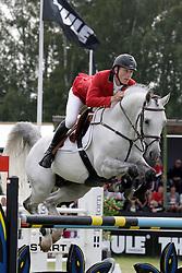 Brondeel Donaat (BEL) - Breemeersen Adorado<br /> FEI Nations Cup of Sweden - Falsterbo 2012<br /> © Hippo Foto - Beatrice Scudo
