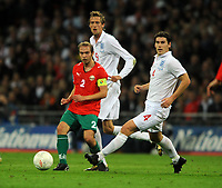Wembley Stadium England v Belarus (3-0) World Cup Qualifying Group 6 14/10/2009<br /> Alexsandr Kulchy (Belarus)<br /> Photo Roger Parker Fotosports International