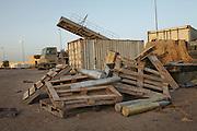 Ammunitions in the Tank depot in Zintan.