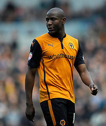Wolverhampton Wanderers' Benik Afobe  - Photo mandatory by-line: Harry Trump/JMP - Mobile: 07966 386802 - 14/03/15 - SPORT - Football - Sky Bet Championship - Brighton v Wolves - Amex Stadium, Brighton, England.