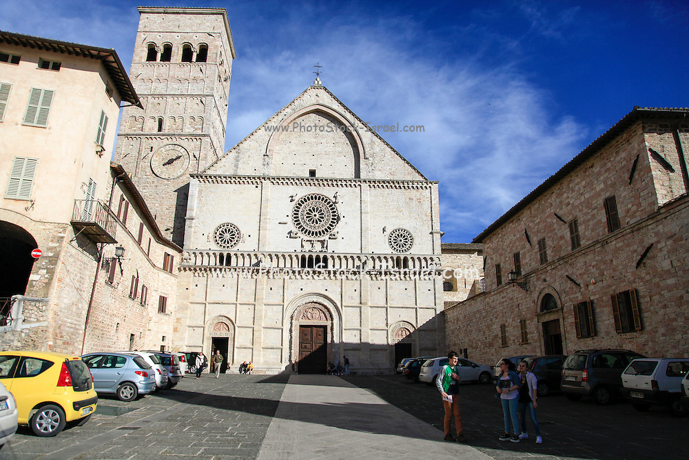 Cathedral of San Rufino, Assisi, Italy