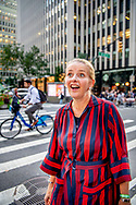 NEW YORK Princess Mabel in the streets of new york on her way to the ford FoundationROBIN UTRECHT