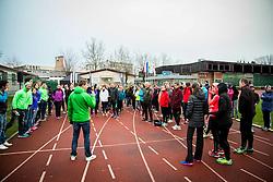 Gorazd Jurkovic at First meeting of Adidas running school - Adidasova poletna sola teka 2015, on March 27, 2015 in Kodeljevo, Ljubljana, Slovenia. Photo by Vid Ponikvar / Sportida
