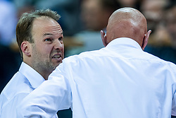 24-11-2017 NED: WC qualification Netherlands - Croatia, Almere<br /> First Round - Group D at the arena Topsportcentrum / Ass. coach Sander van der Holst of Netherlands