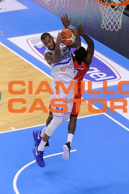 Amath M'Baye<br /> Enel New Basket Brindisi - Openjobmetis Pallacanestro Varese<br /> Lega Basket Serie A 2016/2017<br /> Brindisi 12/02/2017<br /> Foto Ciamillo-Castoria