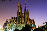 The Sagrada Familiar, Barcelona, Catlaunya, Spain