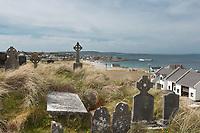 Burial grounds on Inisheer Island, part of the Aran Islands, off west coast of Ireland. Copyright 2019 Reid McNally.