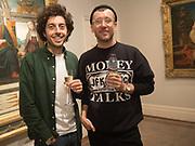 FRANCESCO BUGLIONE, PAWEL DANIEL BIALOSIEWICZ, , , Keith Coventry crack pipes exhibition , .Dickinson, 58 Jermyn Street, London 6-8 pm. London November  1  2017.