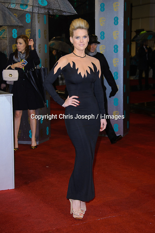Alice Eve during The British Academy Film Awards, The Royal Opera House, Bow Street, Covent Garden, London, WC2, Sunday February 10, 2013. Photo by Chris Joseph / i-Images. ..