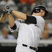 Brian McCann, New York Yankees, batting during the New York Yankees V New York Mets, Subway Series game at Yankee Stadium, The Bronx, New York. 12th May 2014. Photo Tim Clayton