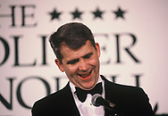Oliver North at a roast to pay for his legal expenses in  3/1990<br /> <br /> by Dennis Brack
