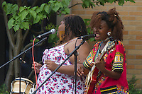 """The 2016 George Franklin Memorial Concert Series held its second concert of the series this Sunday with reggae / Soul singer Koku Gonza and her band. The concert was held in Nichols Park located at 1355 E. 53rd Street. The next performance will be the R & B group the McDowell Brothers on August 7th.  <br /> <br /> Please 'Like' """"Spencer Bibbs Photography"""" on Facebook.<br /> <br /> All rights to this photo are owned by Spencer Bibbs of Spencer Bibbs Photography and may only be used in any way shape or form, whole or in part with written permission by the owner of the photo, Spencer Bibbs.<br /> <br /> For all of your photography needs, please contact Spencer Bibbs at 773-895-4744. I can also be reached in the following ways:<br /> <br /> Website – www.spbdigitalconcepts.photoshelter.com<br /> <br /> Text - Text """"Spencer Bibbs"""" to 72727<br /> <br /> Email – spencerbibbsphotography@yahoo.com"""