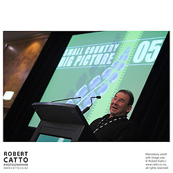 John Barnett at the Spada Conference 2005: Small Country, Big Picture at the Intercontinental Hotel, Wellington, New Zealand.
