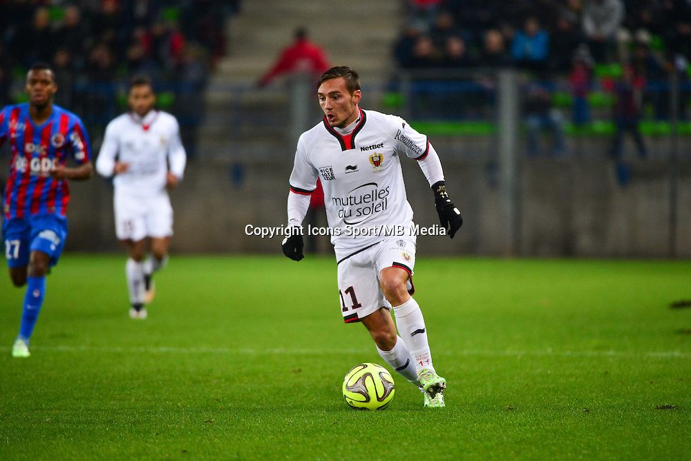 Eric BAUTHEAC - 06.12.2014 - Caen / Nice - 17eme journee de Ligue 1 -<br />